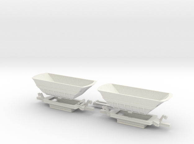 Fammoorr 050 TT Scale in White Natural Versatile Plastic