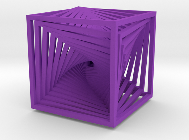 Twisted Frame Thingy - big 3d printed