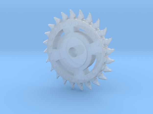 Buzz saw wheel (1.5cm diameter) 3d printed