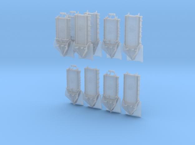 10 X Z 1-220 2 Types Snow Plough 3d printed