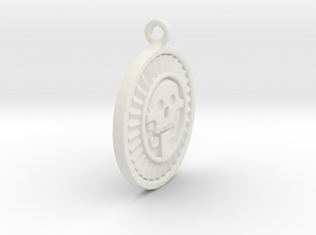 Mictlantecuhtli 3d printed