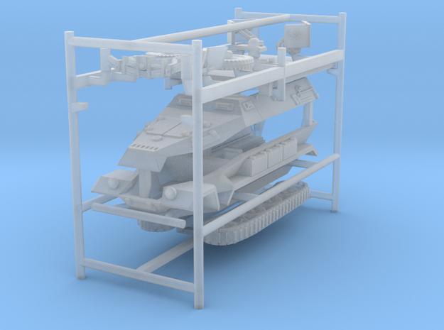 GAV-SD-KFZ-251-1-A--72-20131009d-triple in Smooth Fine Detail Plastic