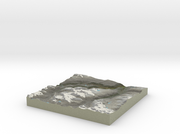 Terrafab generated model Thu Oct 10 2013 10:28:11 3d printed