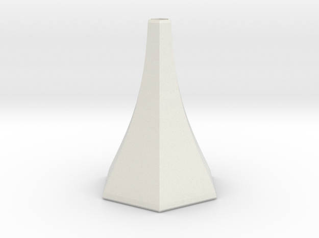 galifrey vase in White Natural Versatile Plastic