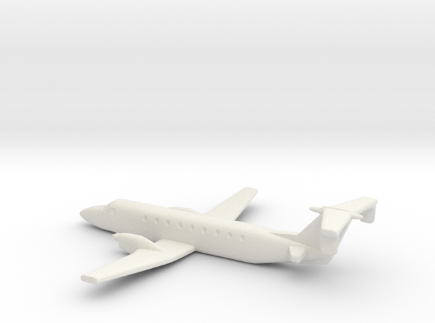 Beechcraft 1900 Scale 1:700 3d printed