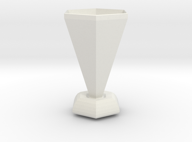 the last centurion vase in White Natural Versatile Plastic