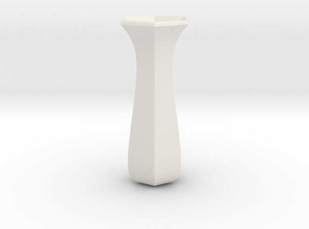 rose  vase in White Natural Versatile Plastic