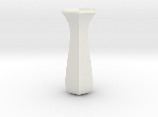rose  vase in White Natural Versatile Plastic