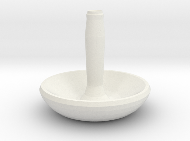 Twinkle Candle holder in White Natural Versatile Plastic