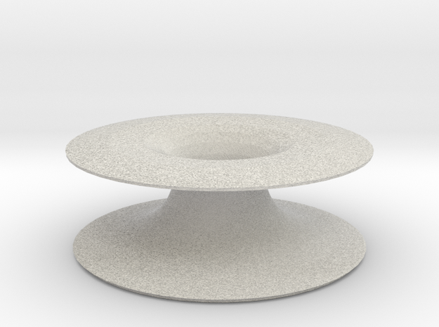 asta candle holder in Full Color Sandstone