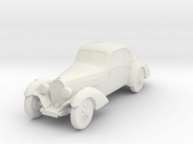 Bugatti 43  in White Strong & Flexible