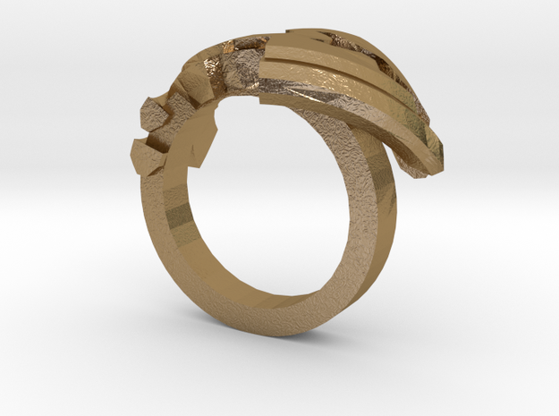 Avar Ring - us:7 1/4 fin:Ø17,5 3d printed
