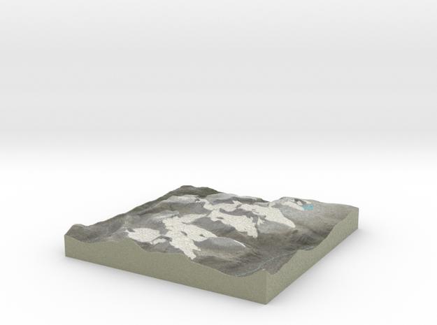 Terrafab generated model Sat Oct 12 2013 10:10:39 3d printed
