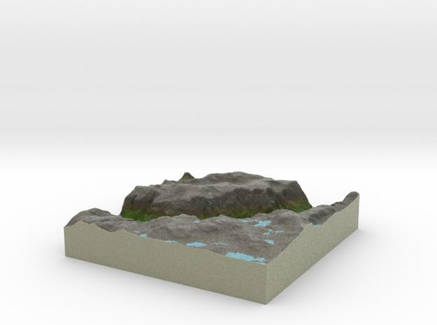 Terrafab generated model Fri Oct 18 2013 22:45:03 3d printed