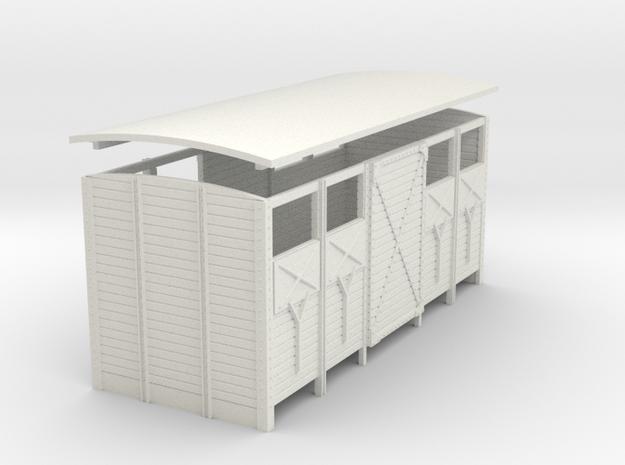 Body Van Clvent Door2 32 in White Strong & Flexible