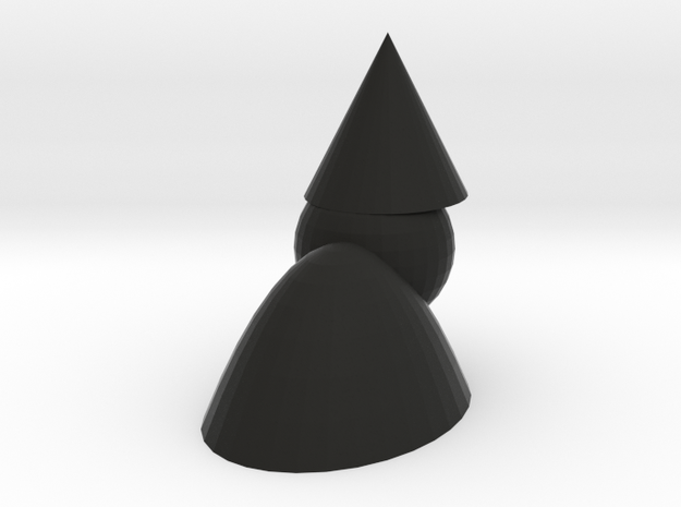 Quasimodo the gnome 3d printed