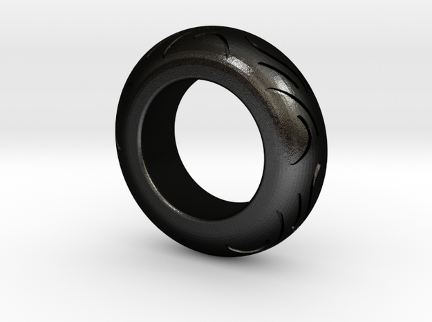 Motorcycle Low Profile Tire Tread Ring Size 6 3d printed