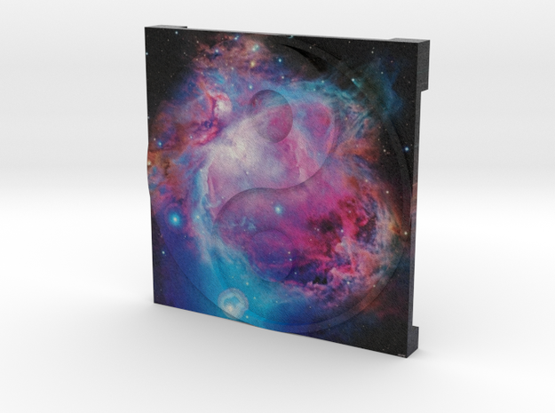 Orion Nebula over Ying Yang in Full Color Sandstone