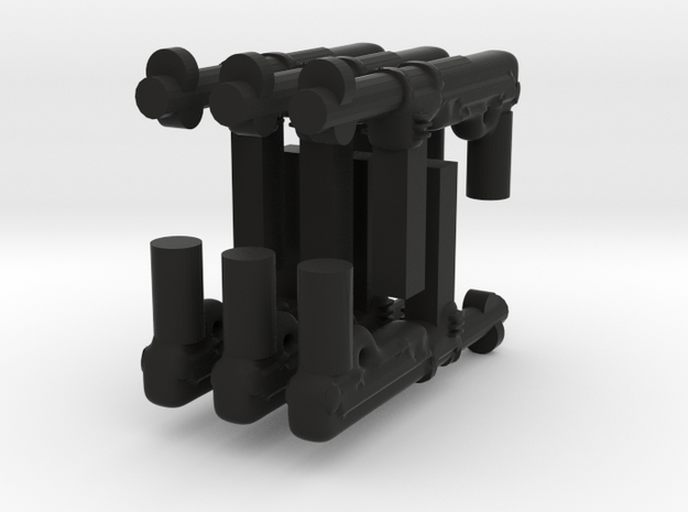 Mp40 gun for lego and bricks 3d printed