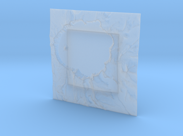 8'' Crater Lake, Oregon, USA 3d printed