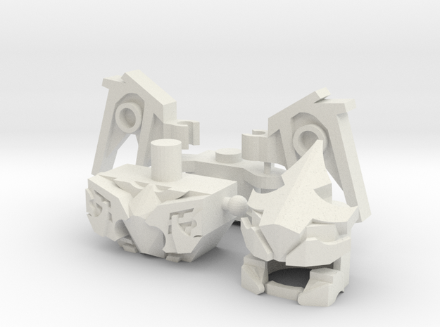 Linky Bot Upgrade Set in White Natural Versatile Plastic
