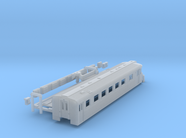 Y Tog (Y Train) in N scale in Smooth Fine Detail Plastic