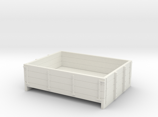 55n2 3 plank dropside in White Natural Versatile Plastic