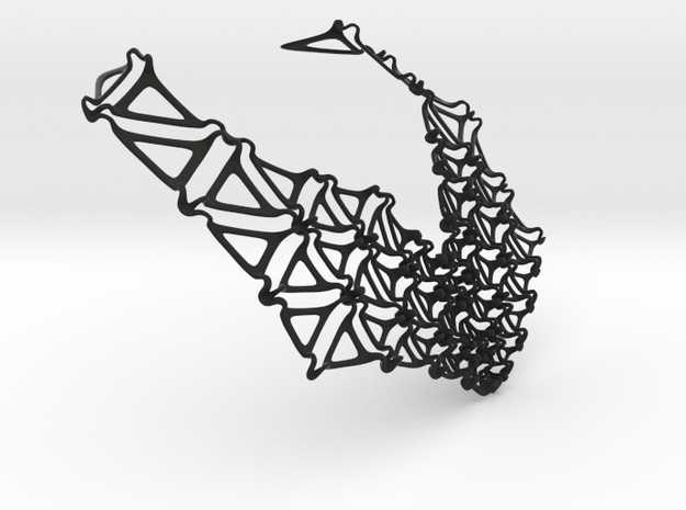 Konzentrat necklace 3d printed