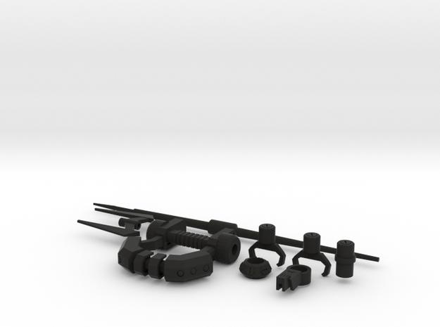 TF: Prime Legacy Weapons in Black Natural Versatile Plastic