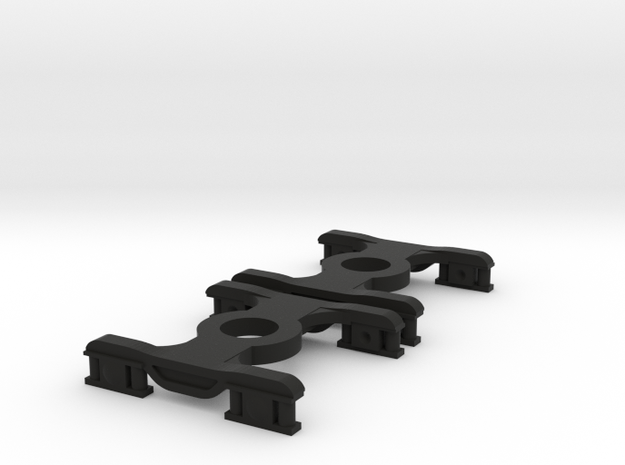 2 * FEA-B/E/F/S Bogies N Gauge 1:148 in Black Natural Versatile Plastic