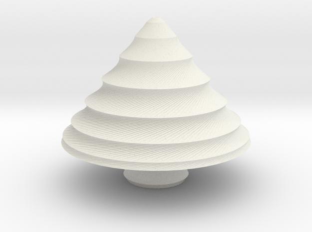 xmas tree 25 in White Natural Versatile Plastic