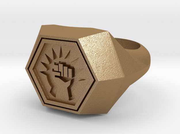 Magic: The Gathering    Boros Ring(US Size 09) 3d printed