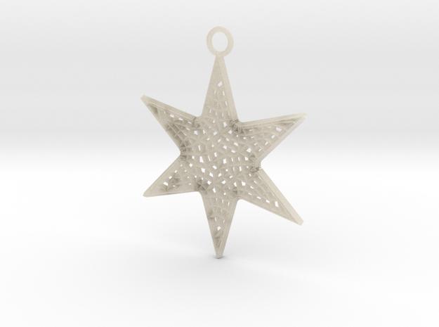 Star Ornament Large 3d printed