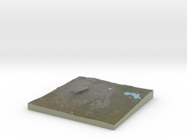 Terrafab generated model Thu Oct 31 2013 13:35:33 3d printed