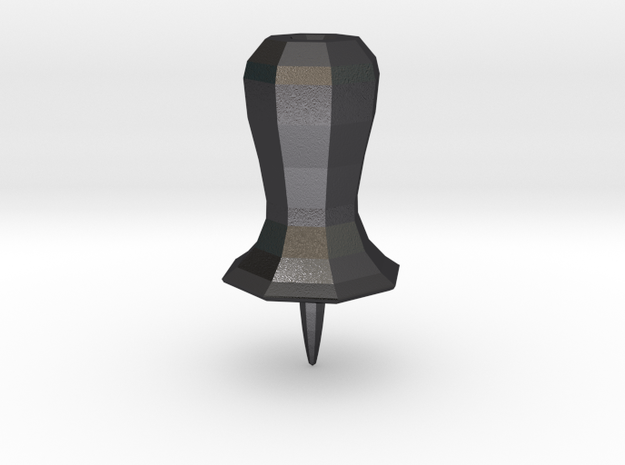 Second life style steel pin 3d printed