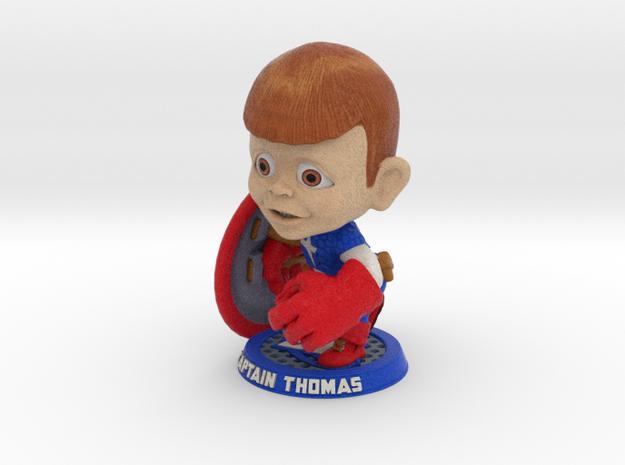 Captain Thomas (large) 3d printed
