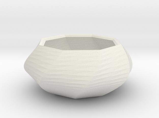 small vase in White Natural Versatile Plastic