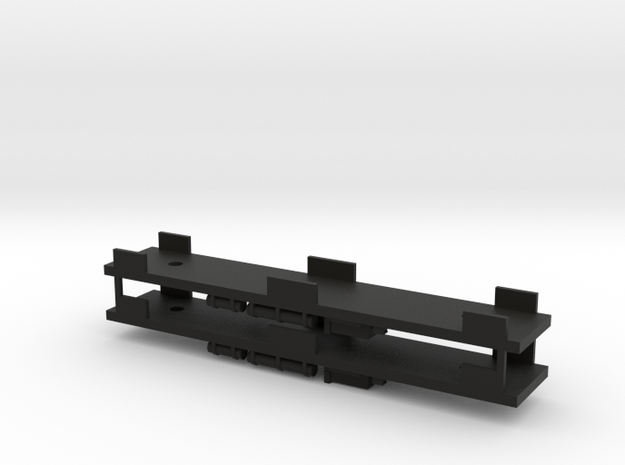 CNSM - 2 Interurban Underframes in Black Natural Versatile Plastic