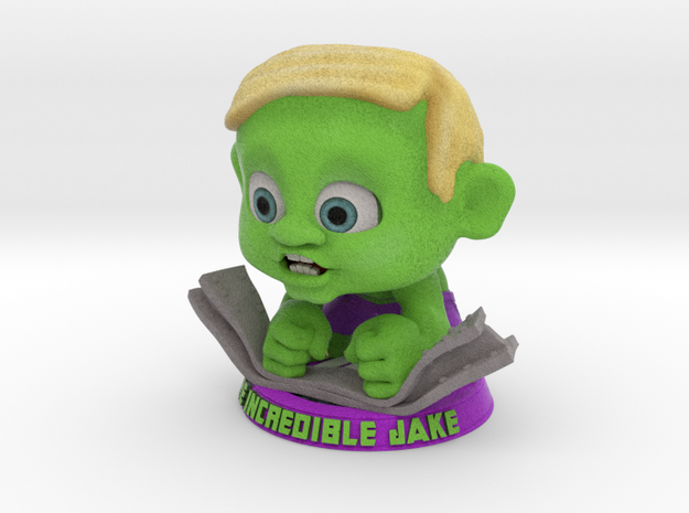 The Incredible Jake (large) 3d printed