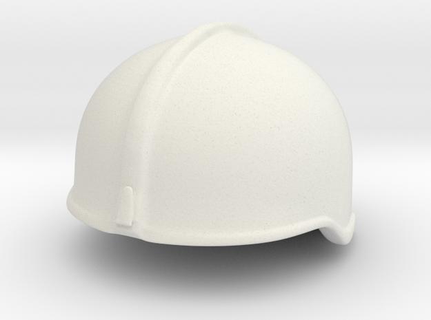 Fire Helmet Rosenbauer (Test) in White Natural Versatile Plastic
