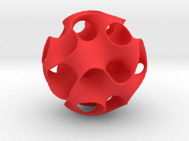 Schwartz D Sphere, small 3d printed