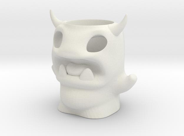 Devil Monster Pencil Pot 3d printed