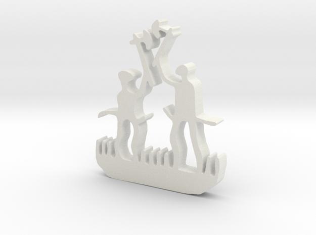 PF0010-5cm-liten-bit in White Natural Versatile Plastic