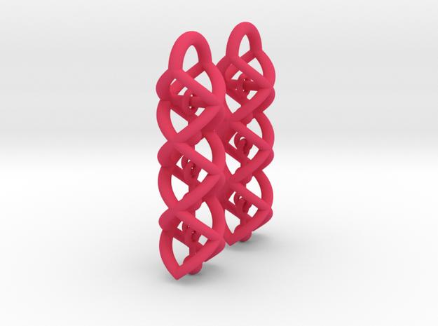Helix Dangle Earrings V1 3d printed