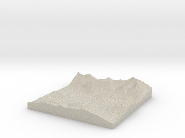 Terrafab generated model Wed Nov 06 2013 02:39:32  3d printed