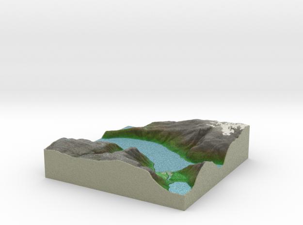 Terrafab generated model Wed Nov 06 2013 02:10:20 3d printed
