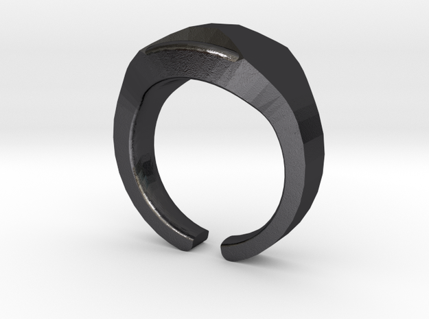 Heavy Ring model 1.1 (size 52: 16.5mm) 3d printed