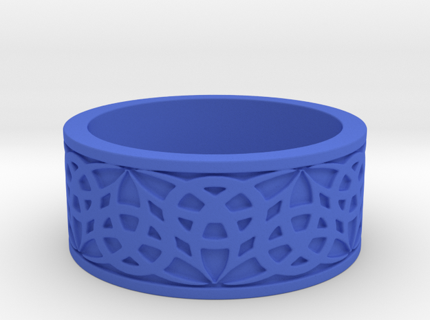 """""""Eternal Triquetra"""" Ring Size 12 3d printed"""