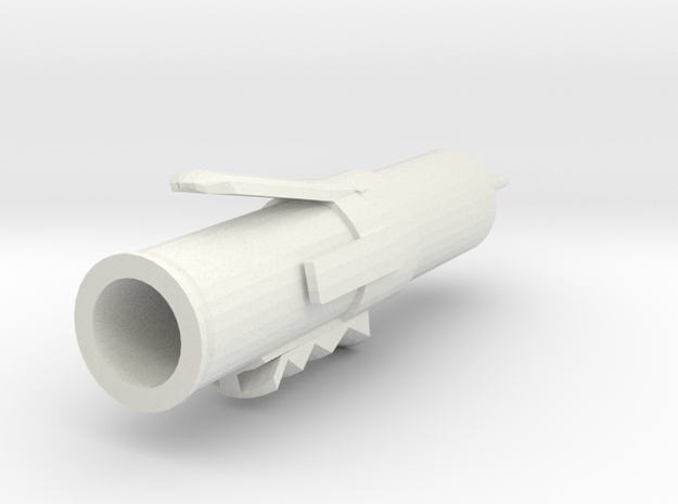 Injector in White Natural Versatile Plastic