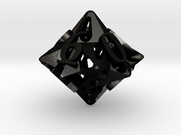 Pinwheel Die10 Ornament 3d printed